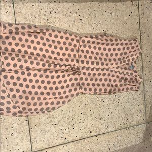 Pink printed dress from H&M. Like new